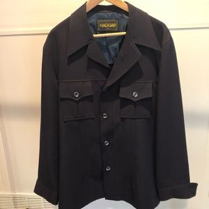 Vintage Haggar casual jacket with butterfly collar